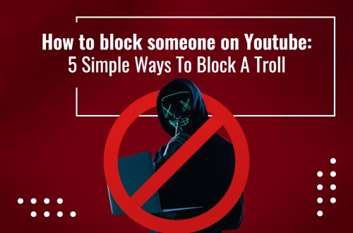 How to block someone on Youtube feature image