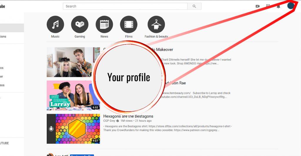 screenshot a youtube studio method